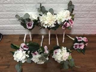 🈹婚後物資 姊妹花球6個 送花女花球1個