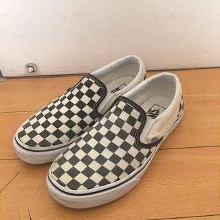 Vans checkerboard slip-on (size 7)