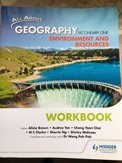 Secondary  1 Geography Workbook
