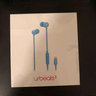 urbeats3 wired earphones in blue
