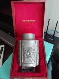 皇家雪蘭莪 (Royal Selangor) 茶罐