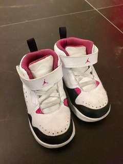 Nike Toddler Jordan High Boot Sneakers (size US 8C EU 25)