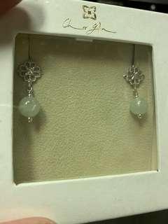 Choo Yilin Jade earrings