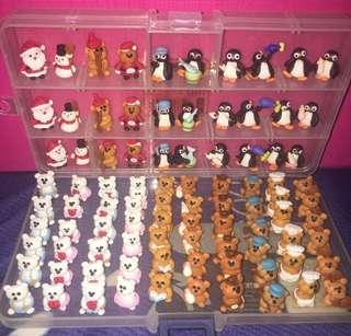 Clay Figurines @ $1.90 each (as gift / deco / valentine day)
