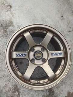VOLK RAYS Eng. Racing Wheel