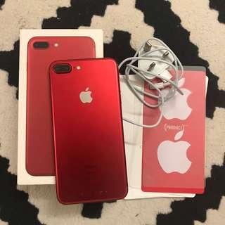Iphone 7 Plus (128gb) myset red product