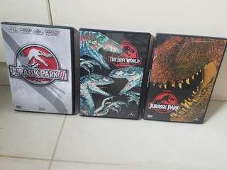 侏羅紀123集DVD