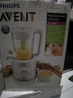 Avent baby food maker steamer blender