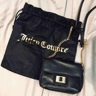 Juicy couture 黑色小鏈包