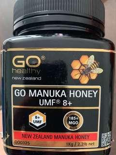 New Zealand Manuka Honey UMF 8+
