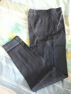 Celana biru semi jeans free ongkir #jan25#