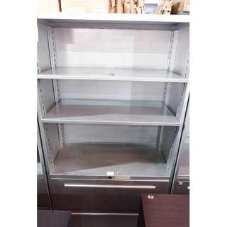 Lateral Cabinet (2drawers) with key   And 3 layer Shelves