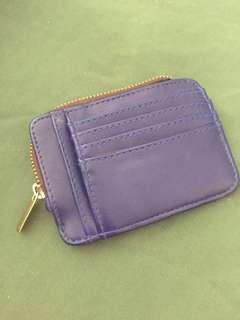 Card Cash and Coin Holder with Money Clip