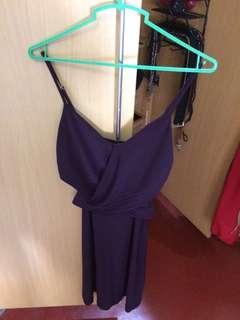 Purple fit dress