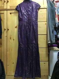 奶奶晚裝裙