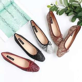 韓版甜美蝴蝶結百搭娃娃鞋  有需要哪款請PO款示給我  尺寸:33~41  賴lucky2200(小培)  FB:南部雜貨舖