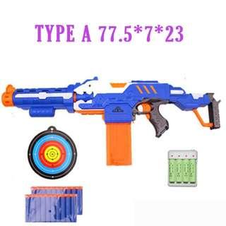 Brand New in Stock Toy Gun Soft bullet battery powered firing not nerf blaze