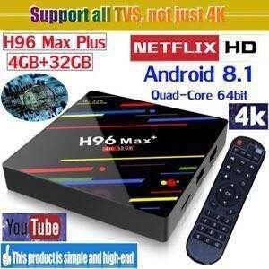 H96 MAX+ 4Gb ram and 32Gb rom, android tv box, Box, android box with