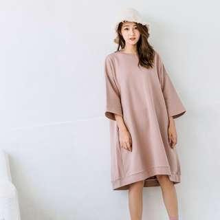 Queen Shop Pink Long Top / Dress