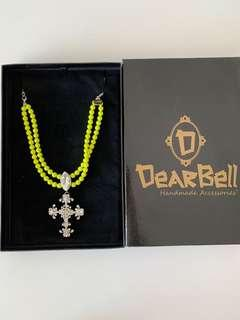 Brand New Dearbell Necklace Women's Accessories