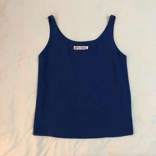 🚚 Navy Blue Top (S)