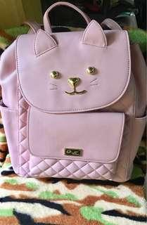 💯Original fr 🇺🇸 Love betsey by Betsey Johnson bagpack.Money back po tyo if proven fake!! Sale Price!!