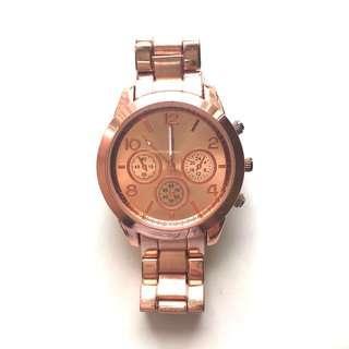 Rose Gold Statement Watch