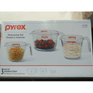 🚚 pyrex玻璃量杯3入組 紀念版