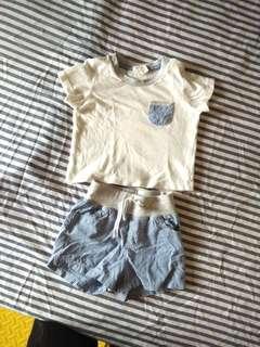 H&M baby boy set