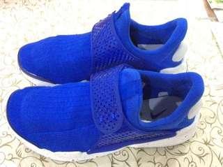 🚚 比outlet還便宜 Nike sock dart 藍白 潑漆 潑墨 襪套 網布 833124-401
