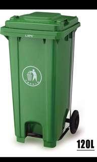 120L Trash Bin With Leg Step