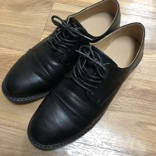 英倫 黑色皮鞋 紳士鞋