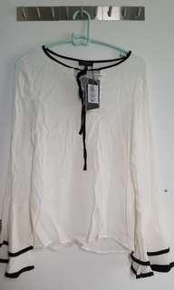 ZALORA BLOUSE WITH TAG