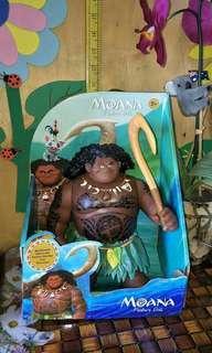 Orig Disney Maui of Moana Batt Op