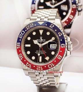 """Rolex GMT Master II """"PEPSI"""""""
