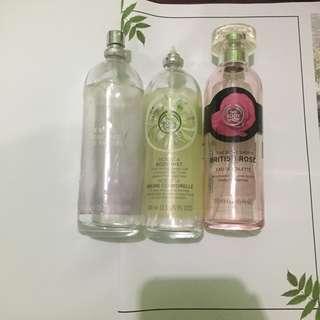 Botol Kosong Parfum The Body Shop