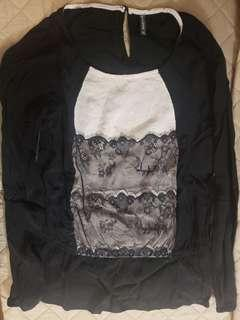 Nafnaf shirt blouse is an french brand name