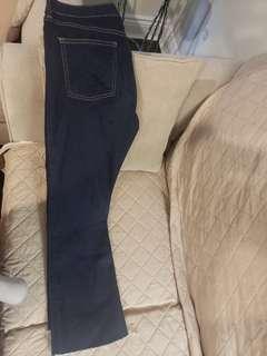 Jean pants Topshop Hudson bay size 4