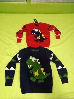 🚚 Boys Sweater Dinosourus