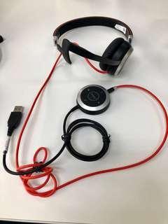 Jabra Evolve 40 mono headset Noise Cancelling