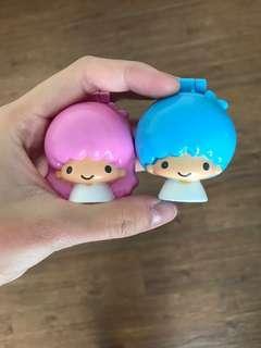 🚚 雙子星 牙刷放置玩偶