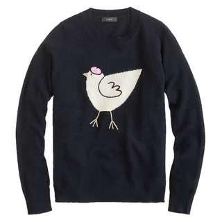 J Crew French Hen Sweater - size Medium