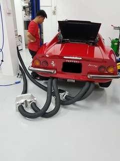 Ferrari/Maserati Engine and Exhaust Check and Servicing