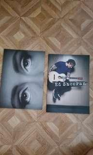 Adele & Ed Sheeran Concert Books