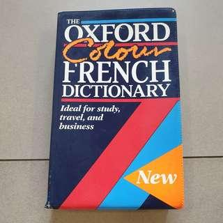 The Oxford Colour French Dictionary