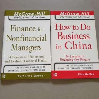 Mcgraw Hill Professional Education - Finance for Nonfinancial Managers & How to Do Business in China