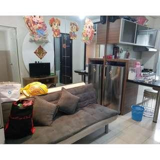 apartemen greenbay 2 kamar full furnish mewah #61
