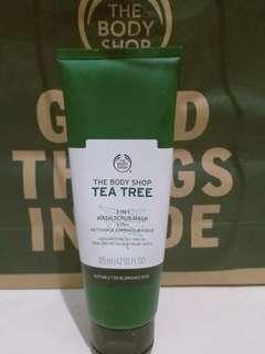 Tea tree body shop 125 ml original