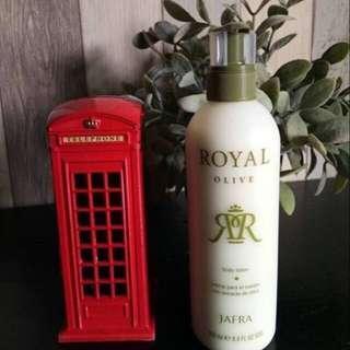 Royal olive body lotion JAFRA