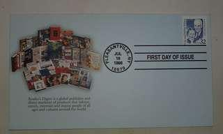 Special issue envelope 1998